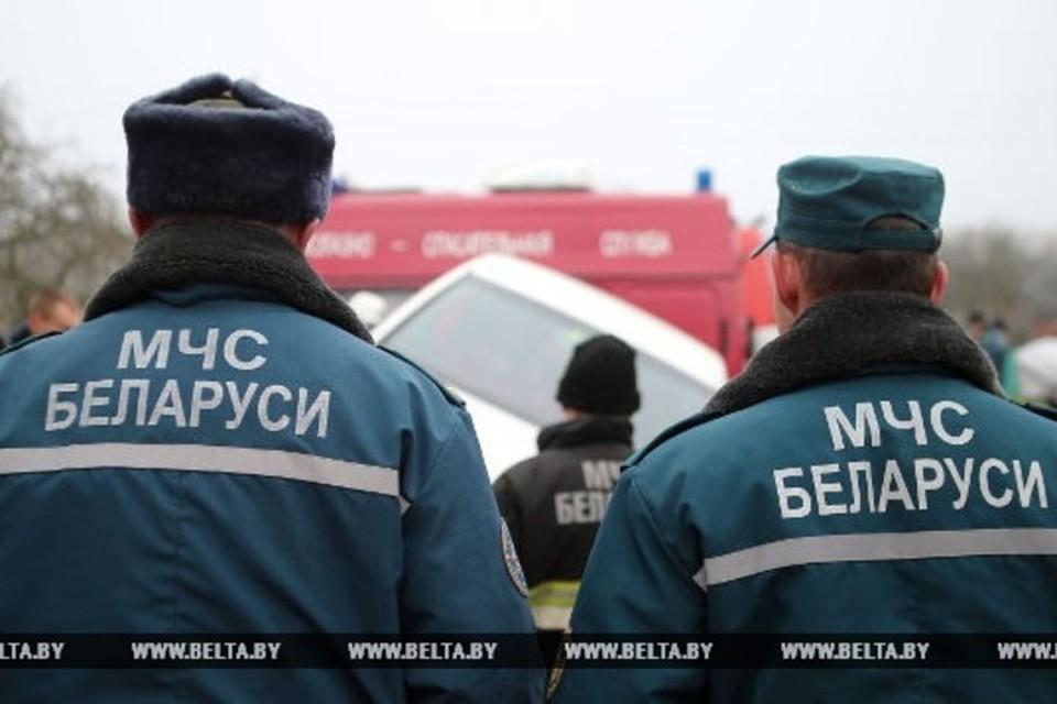В Минске сотрудники МЧС спасли девушку, которая висела в окне четвертого этажа. Фото: БелТА