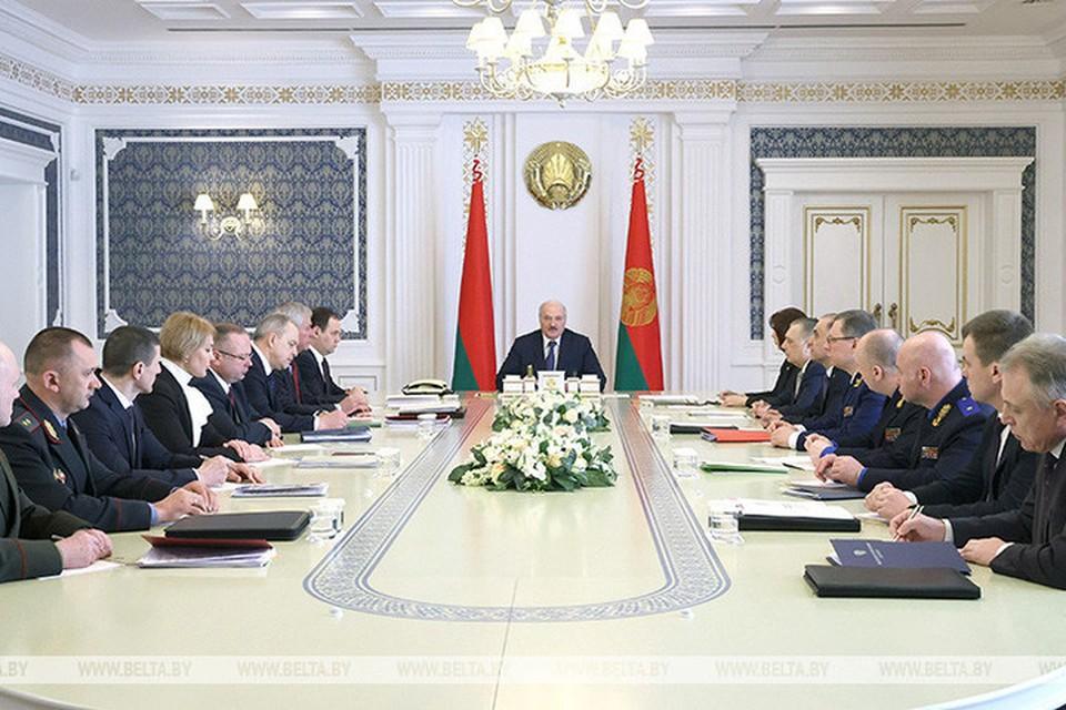 Лукашенко заявил, что Беларуси спокойно жить не дадут. Фото: БелТА