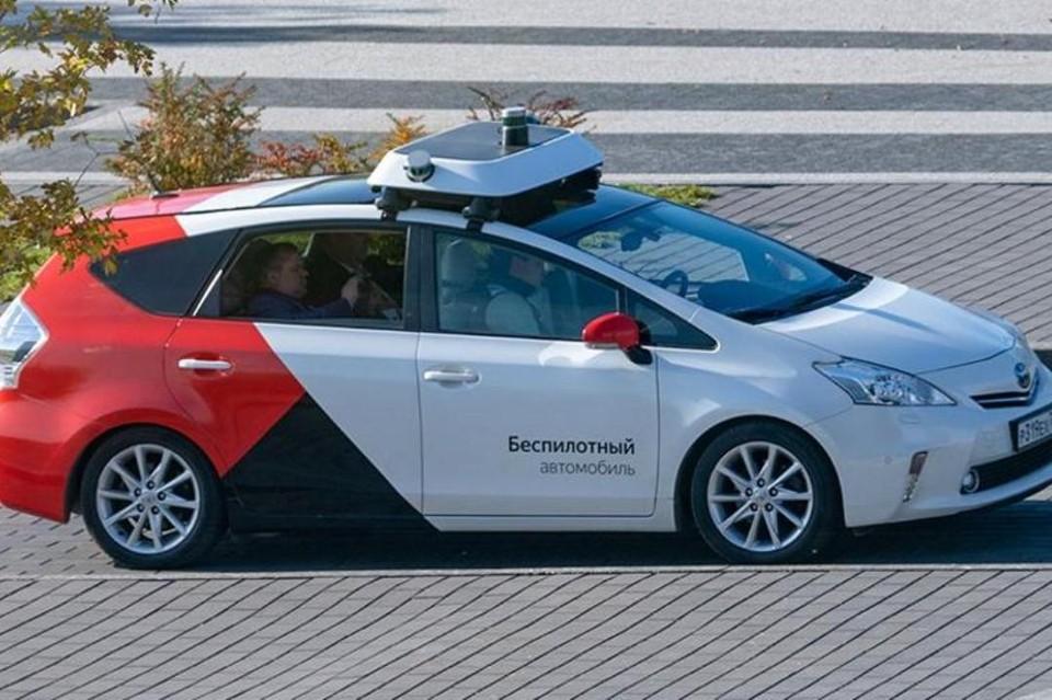 """Пока умные машины ездят с водителями, но совсем скоро выйдут в самостоятельное """"плавание"""". Фото: пресс-служба Минтранса"""