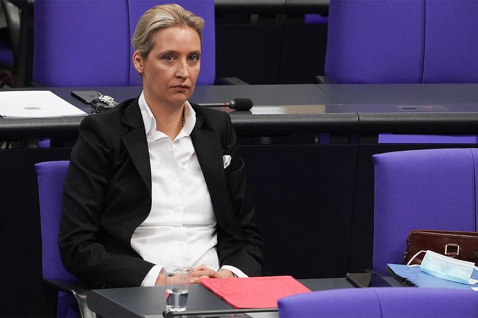 Немецкий политик Алиса Вайдель