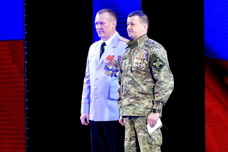 Липецких росгвардейцев поздравили с с 210-летием войск правопорядка