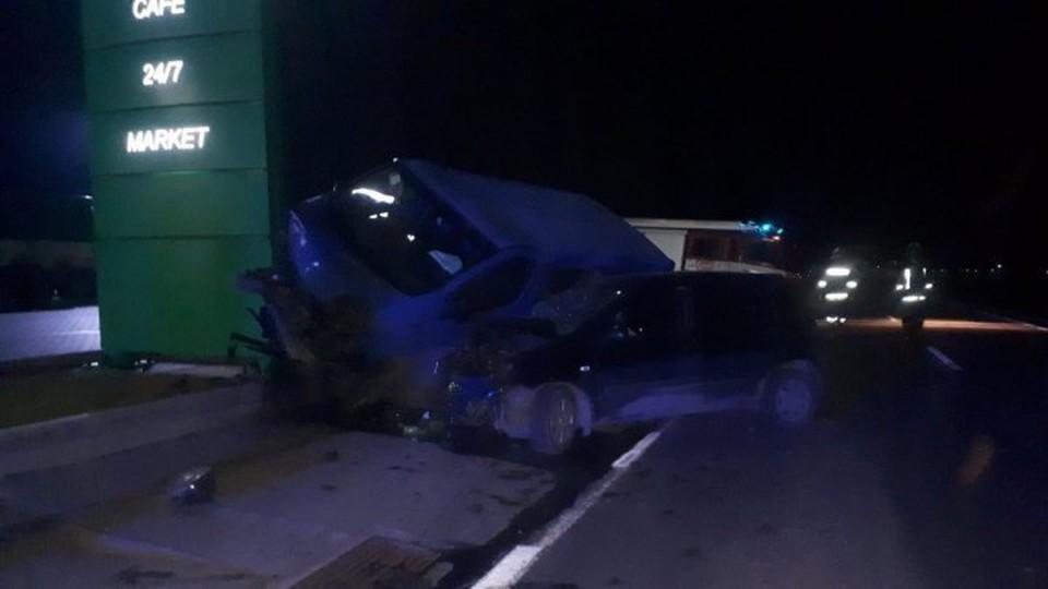 В аварии пострадал один человек (Фото:publika.md).