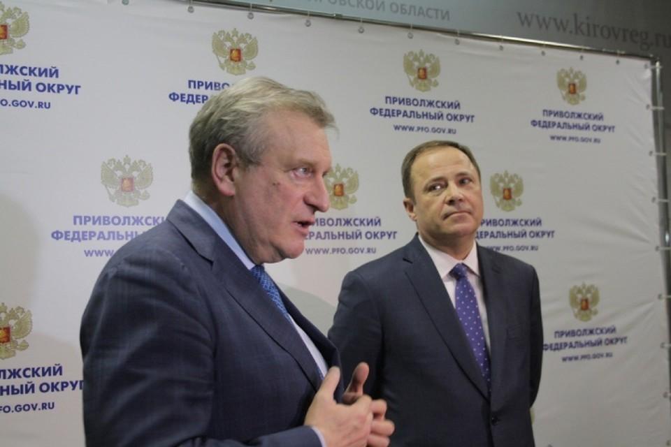 Игорь Комаров и Игорь Васильев обсудили многие вопросы, важные для Кировской области.