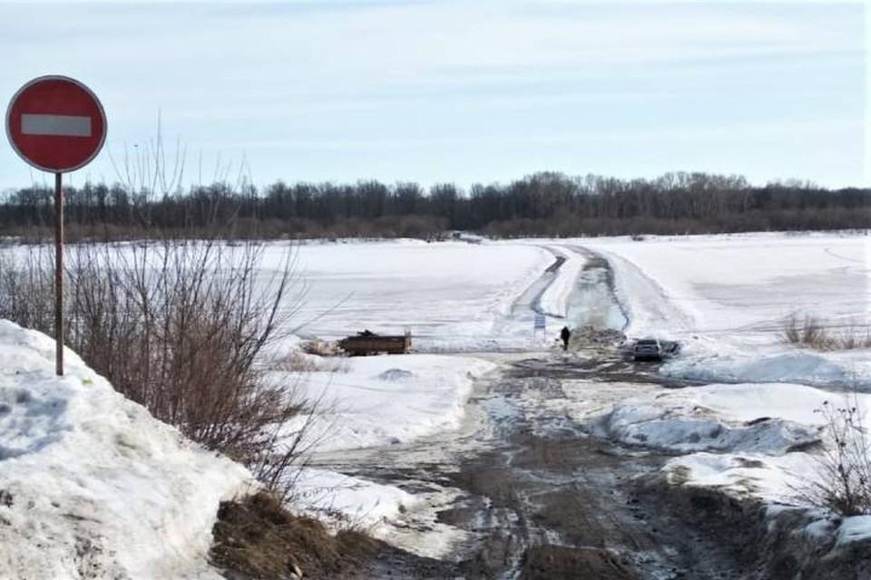 В двух районах Кировской области закрыли ледовые переправы.