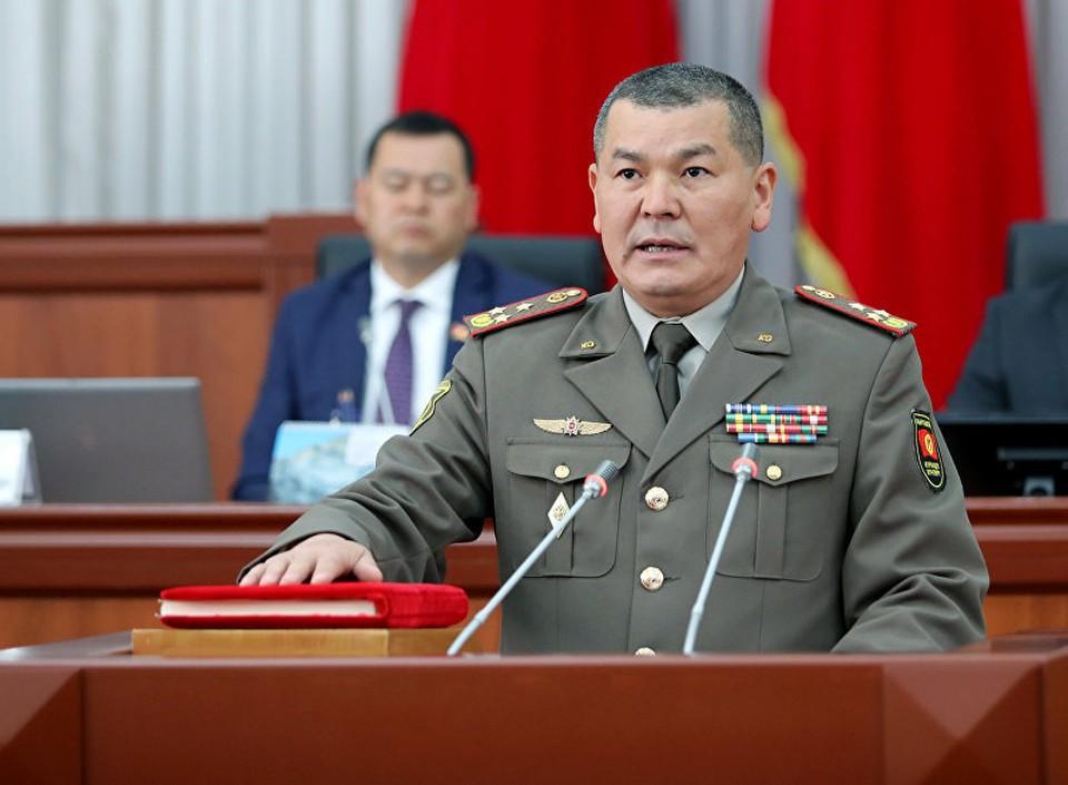 Главе Генштаба ВС КР присвоили звание генерал-майора.