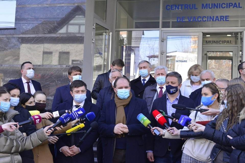 Мэр Кишинева Ион чебан излечился от ковида (Фото: сайт мэра Кишинева).