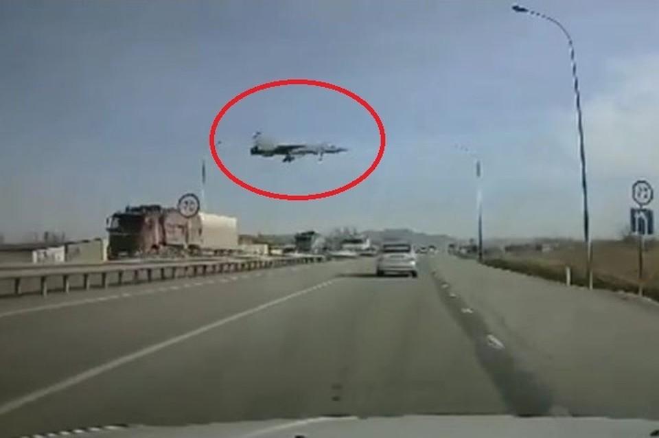 Водителей удивила картина на трассе