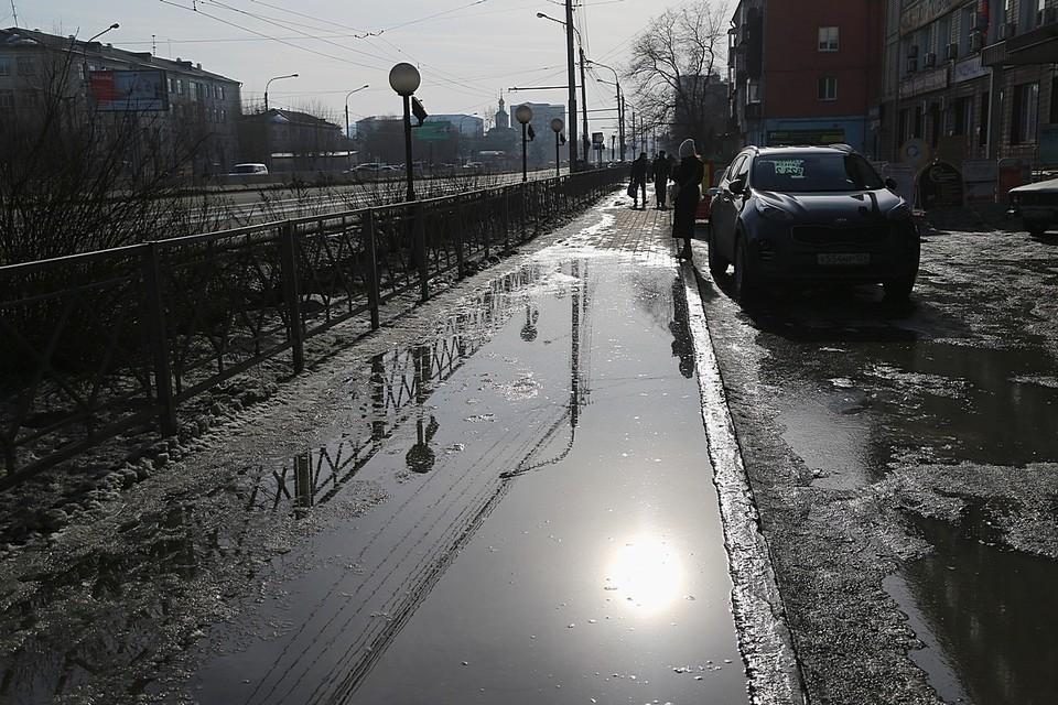 Погода в Красноярске на 3 апреля 2021: ожидаются сильный ветер и обильные осадки