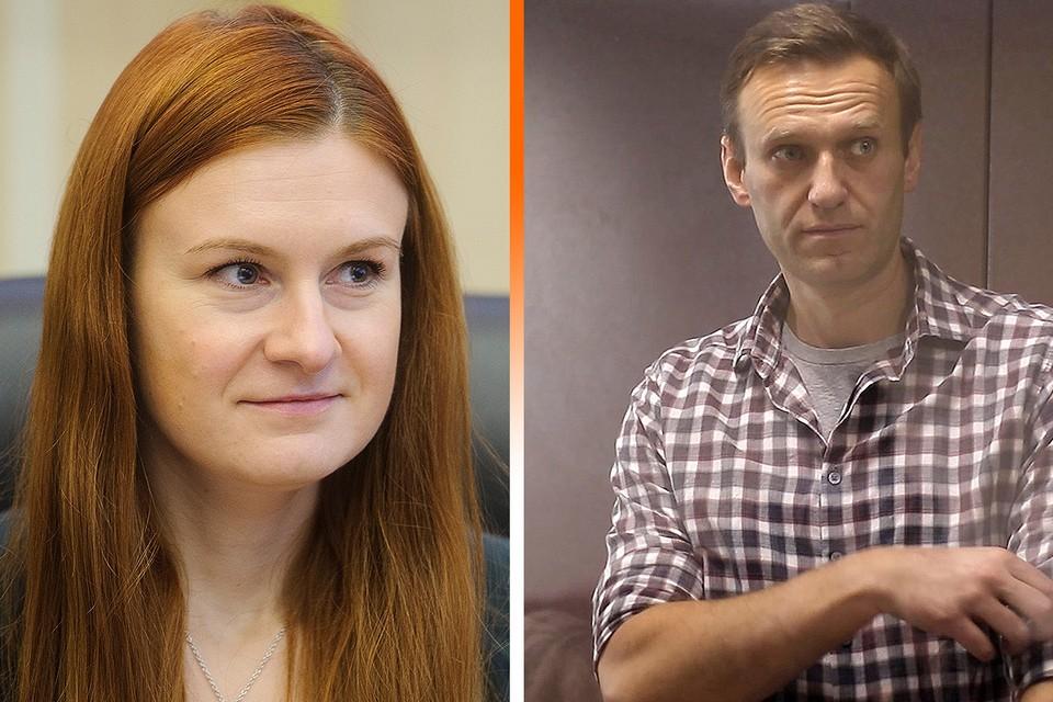 """Мария Бутина о заключенном Алексее Навальном: """"Он создает впечатление совершенно нормального здорового человека""""."""