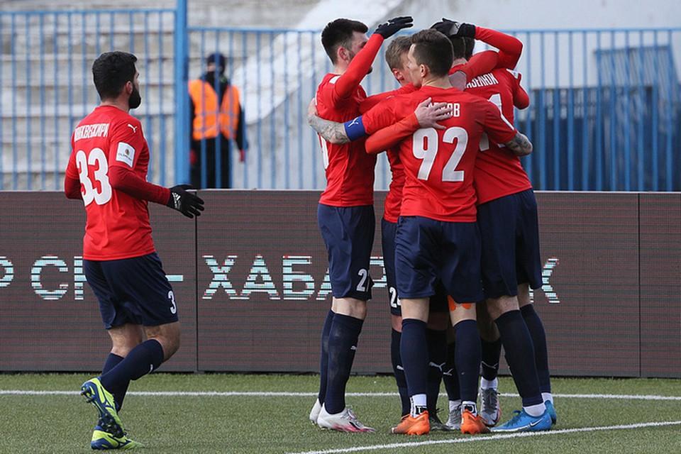 Не без помощи удачи и ветра: «СКА-Хабаровск» на своем поле обыграл «Оренбург» со счетом 1:0