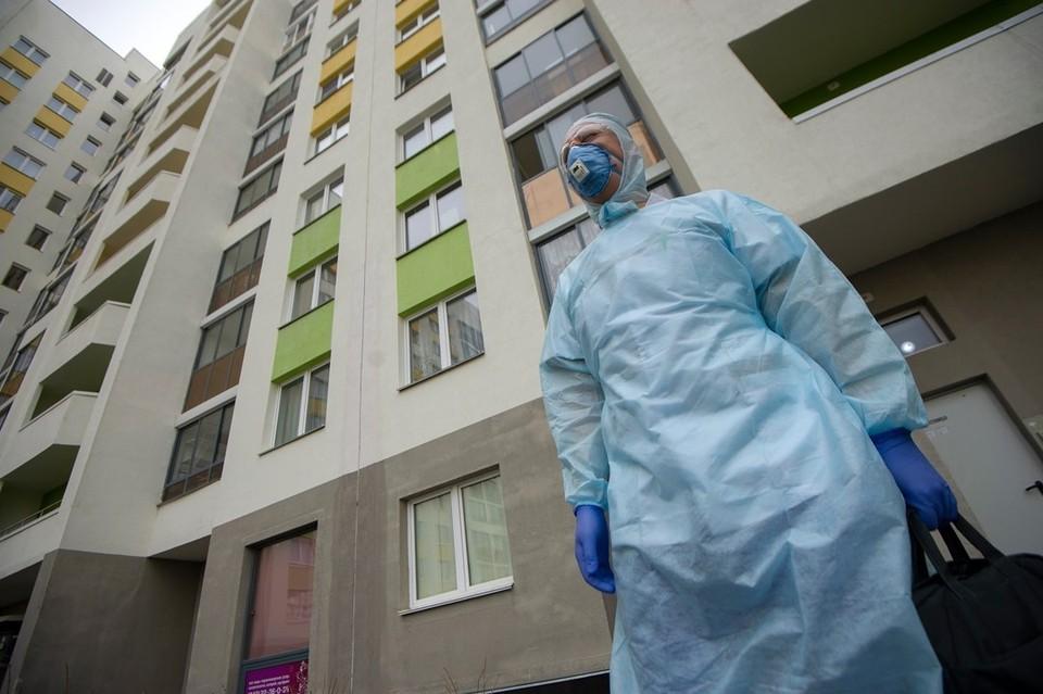 За последние сутки в Беларуси 1 тысяча 239 новых случаев заражения COVID-19