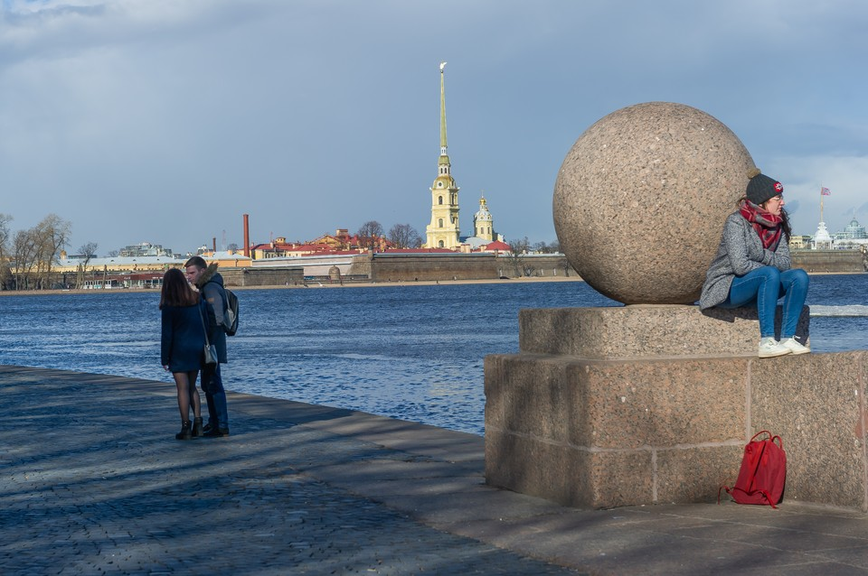 Начало апреля в Петербурге оказалось холоднее ожидаемого.