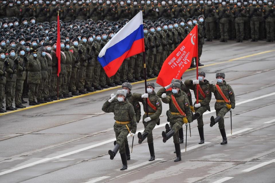 Под Москвой проходит репетиция Парада Победы 2021