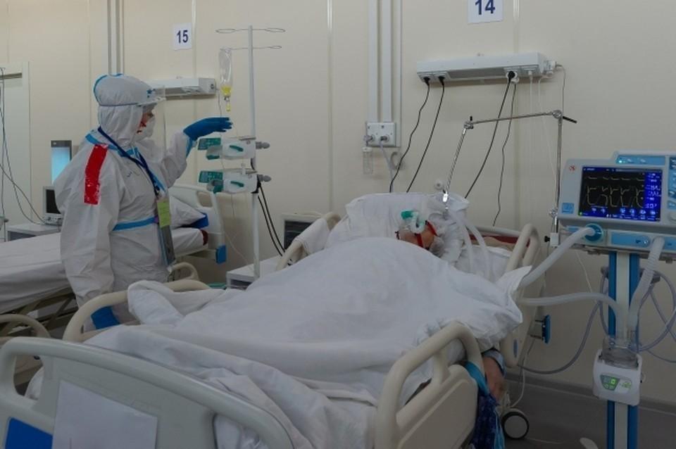 689 пациентов лечатся сейчас в больнице.