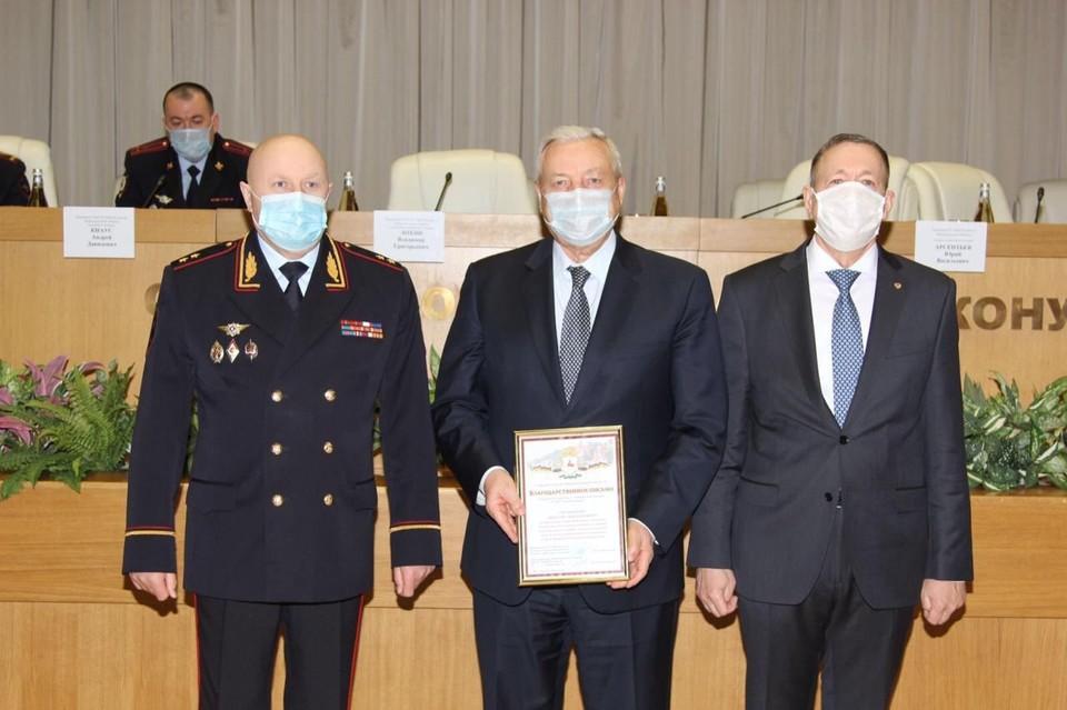 В ГУ МВД России по Нижегородской области состоялось заседание Общественного совета в режиме видеоконференции.