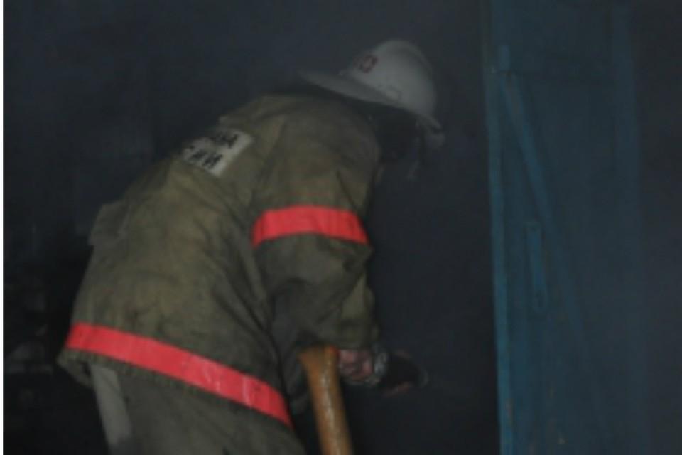 В Таганроге сгорела неэксплуатируемая постройка