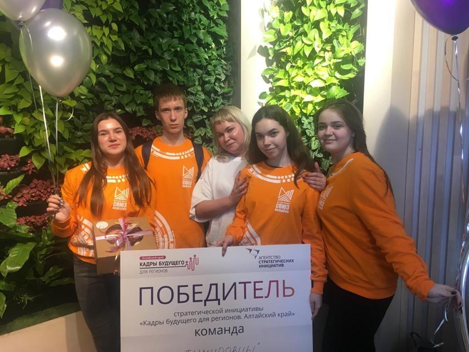 В рамках проекта команда провела серию волонтерских акций для людей пенсионного возраста