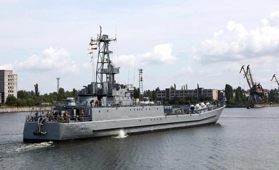 Военно-морские силы Украины внезапно начали учения в Черном море