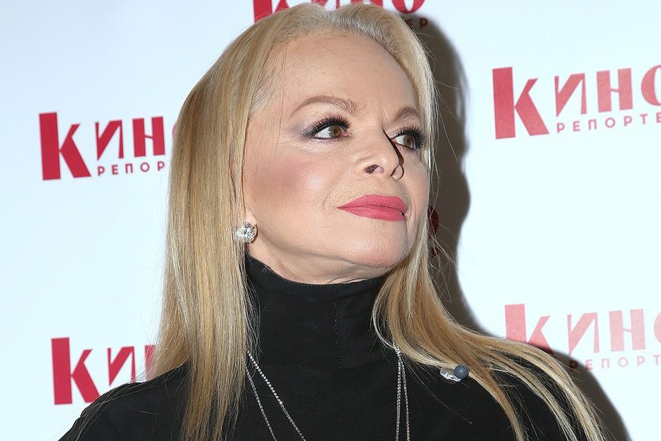 Певица Лариса Долина.
