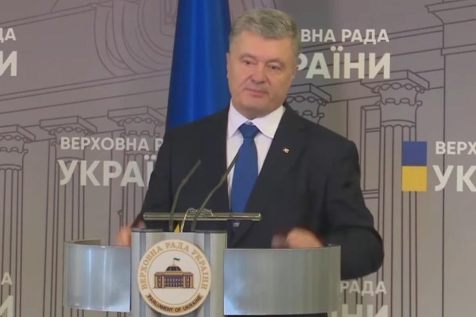 Лидер «Европейской солидарности» Петр Порошенко