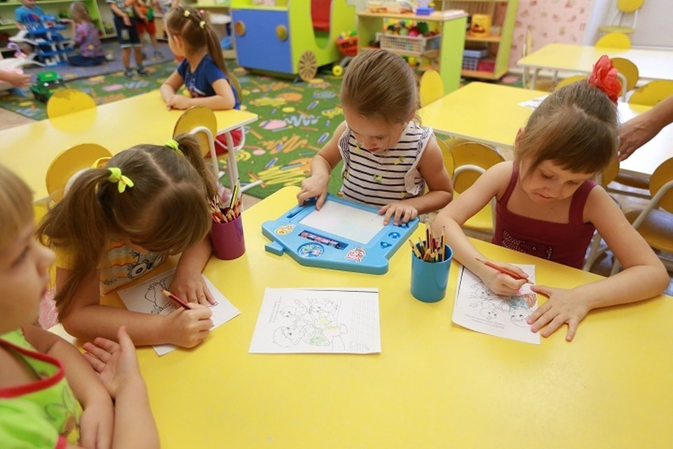 В регионе пойдут в садики более 5 тысяч детей