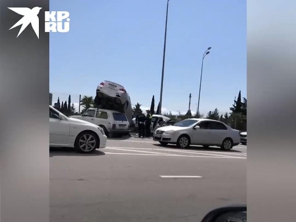 Авария в аэропорту Сочи