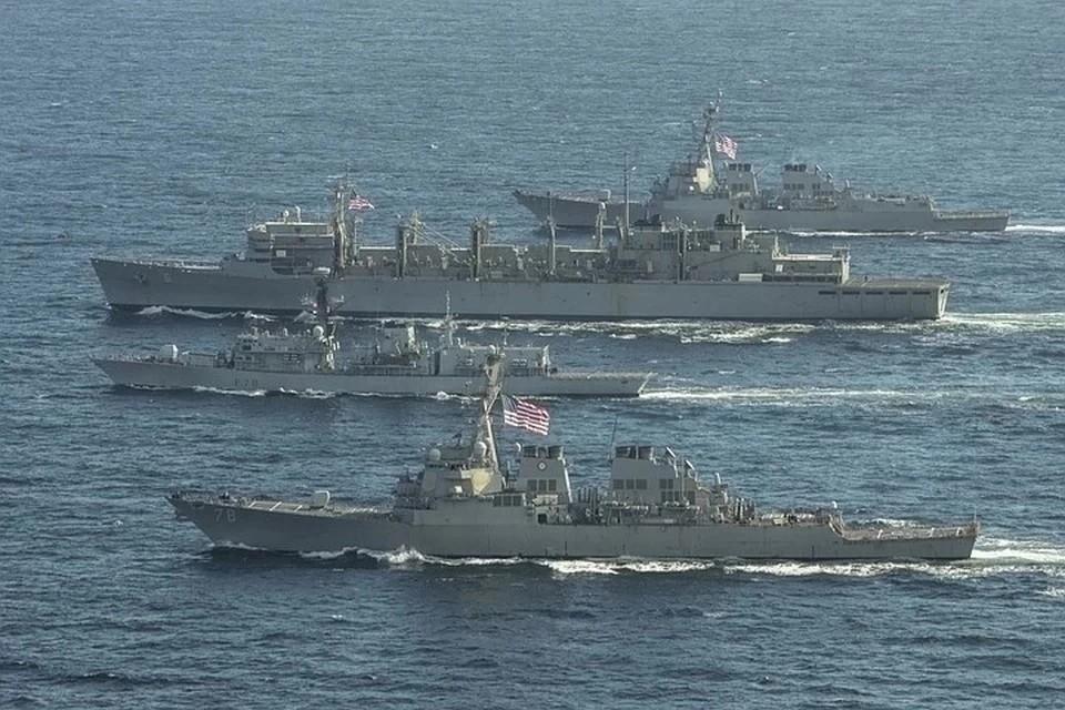 НАТО регулярно проводит учения в Черном море