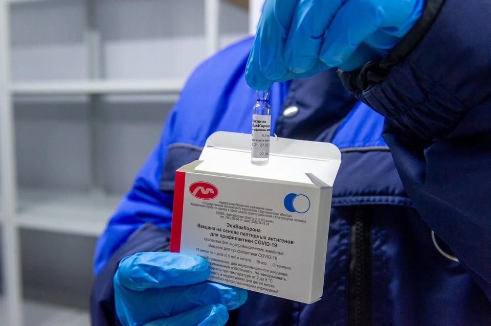 Белгородская область занимает третье место по темпам вакцинации от COVID-19 в России.