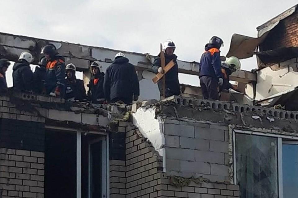 Дом, в котором произошло ЧП, был совсем новым. Фото: ГУ МЧС России по Нижегородской области