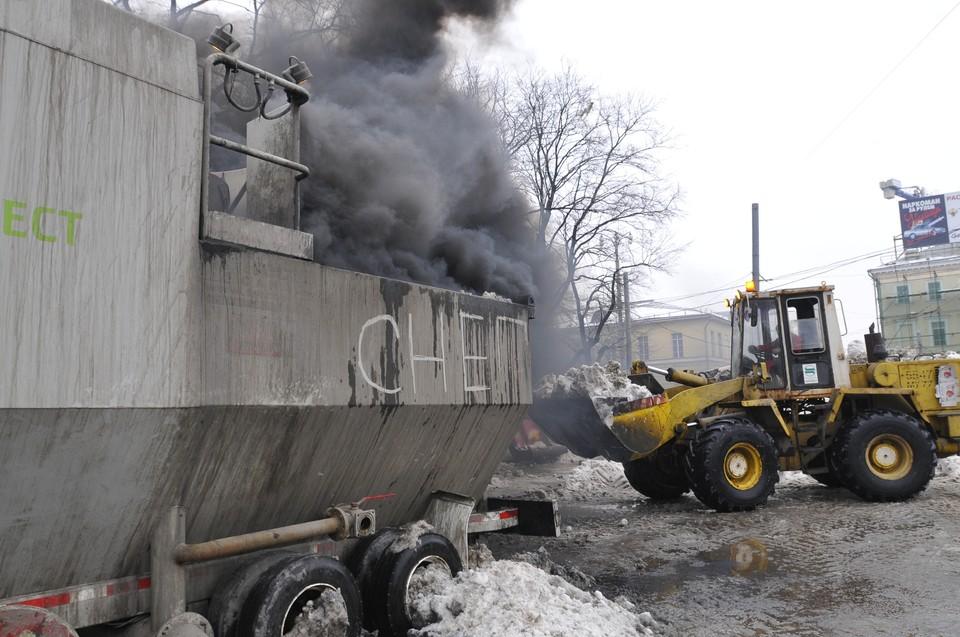 В Москве снегоплавильные станции удалось запустить, но до Самары новшество так и не дошло