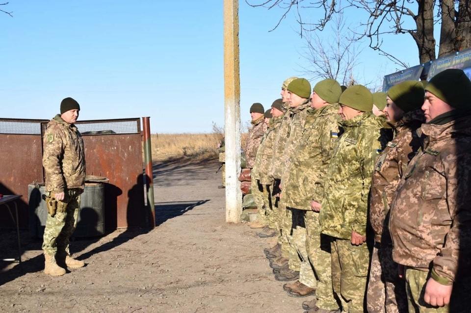 ВСУ не прекращают стрелять по республикам Донбасса. Фото: Штаб ООС