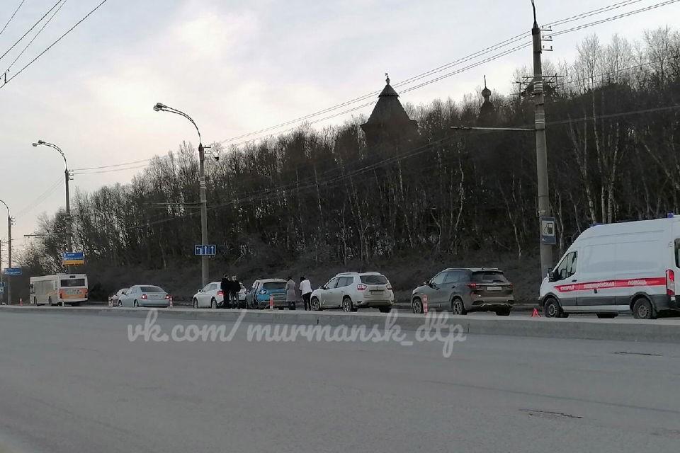 """Авария случилась 21 апреля. Фото: """"Мурманск ДТП ЧП"""""""