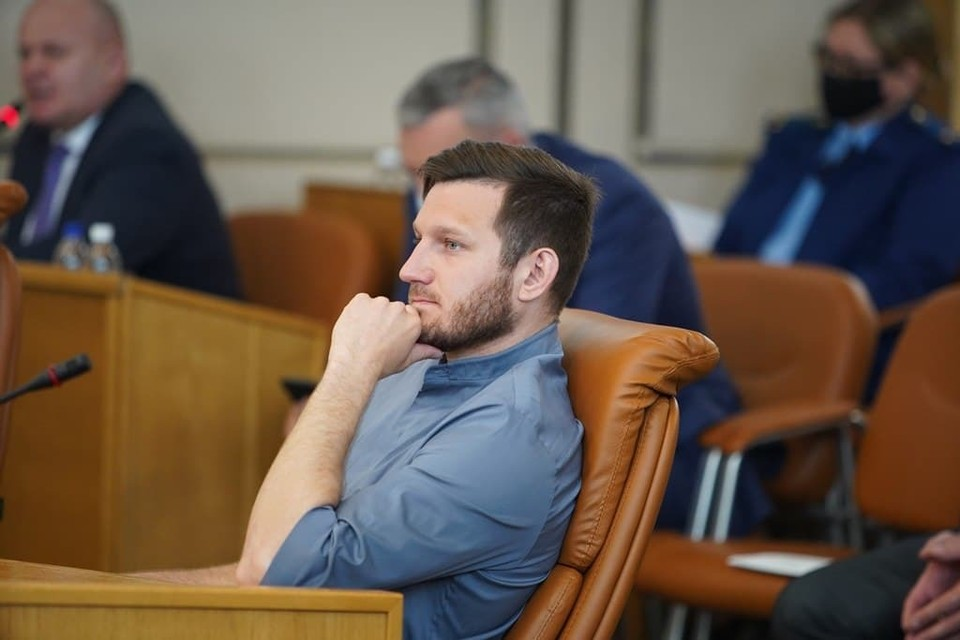 Николай Олюнин, депутат горсовета от Кировского района. Фото: Горсовет Красноярска