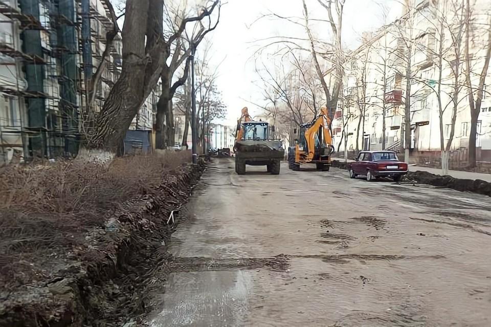 В Липецке ремонтируют дороги