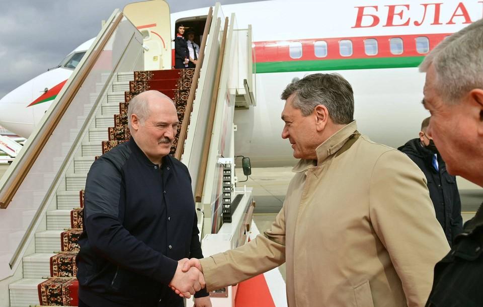 Лукашенко прибыл в Москву на переговоры с Путиным. Фото: Андрей Стасевич   БелТА   ТАСС