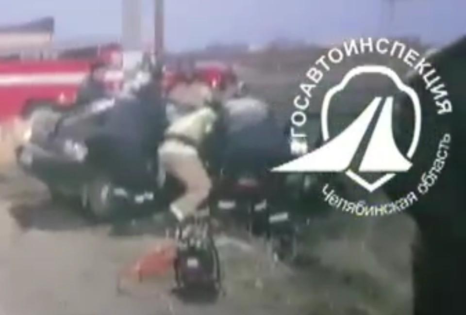 Фото: Управление ГИБДД по Челябинской области / скриншот с видео