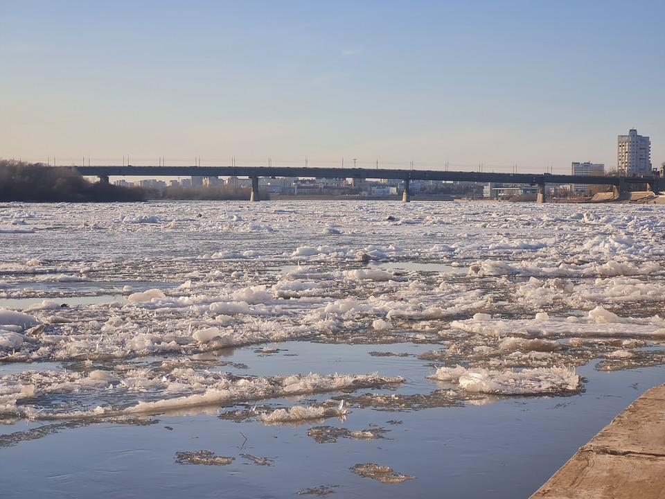 В Лед уносит с собой и холодную погоду. Фото: Веселовская Анна