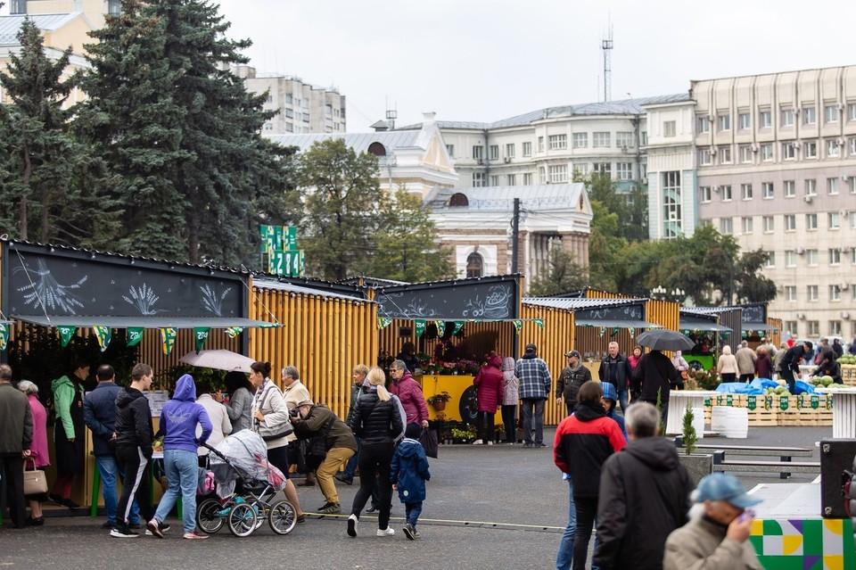 Базара на площади Революции в этом году не будет.