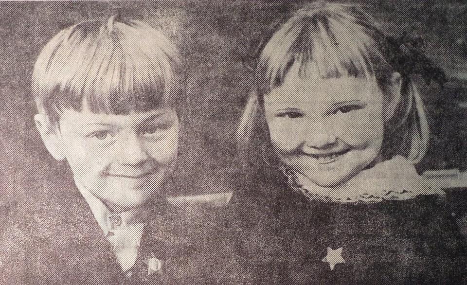 Юра Любезников и Оля Грицененко. Такими они были, когда учились в первом классе школы № 21 Калининграда.