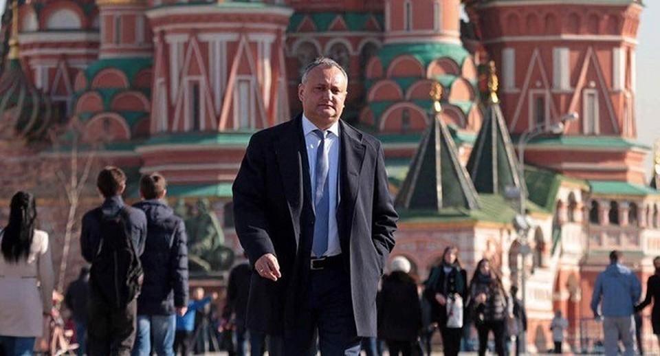 Лидер ПСРМ Игорь Додон вылетел в Москву.
