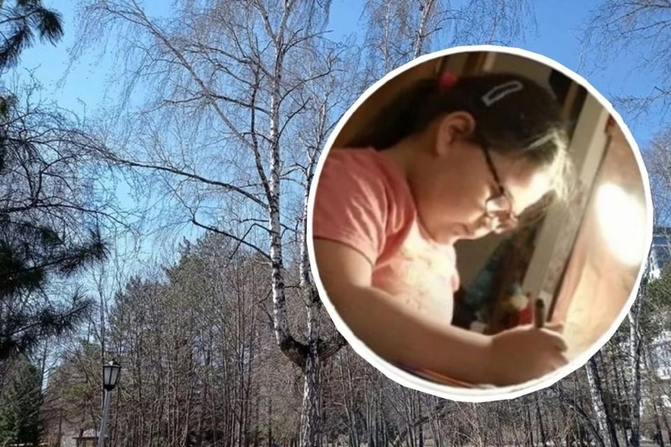 Дерево, как и в Чернобыле, стало напоминать крест. Фото: Вадим АЛЕКСЕЕВ/ОТС.