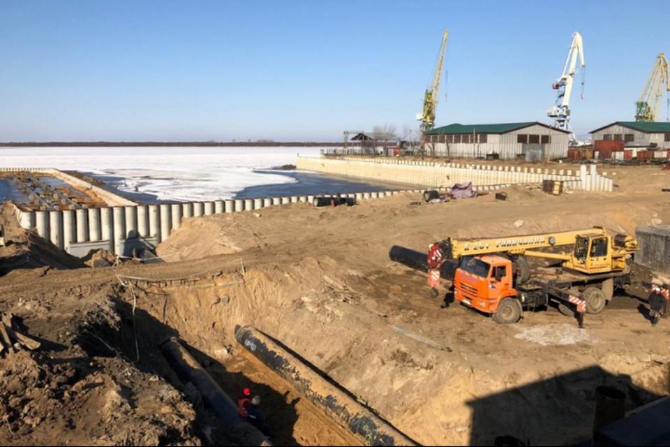 На ремонт набережной в этом году потрачено 444,1 миллиона рублей