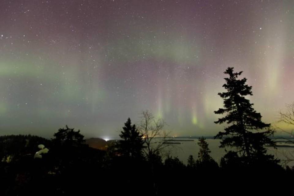 Вечером и ночью 24 апреля в Кировской области можно будет увидеть полярное сияние.