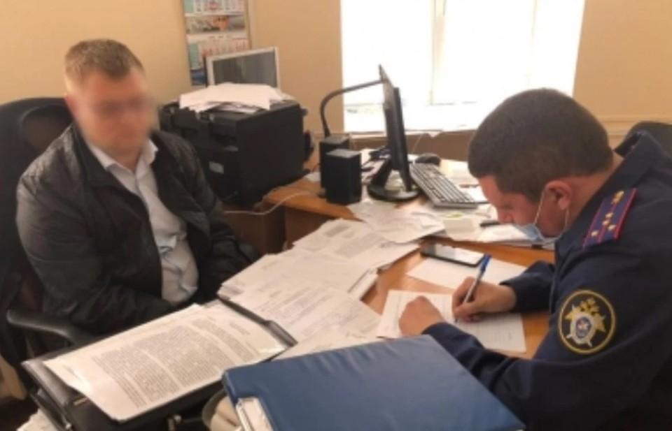 Чиновника заключили под стражу до 25 июня 2021 года. Фото: crim.sledcom.ru
