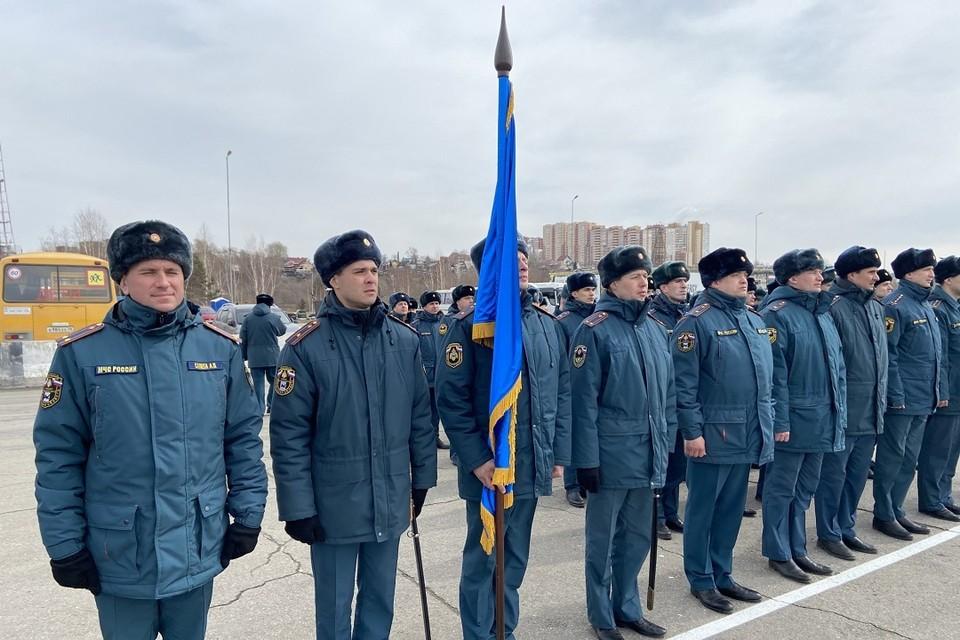 Первая репетиция Парада Победы к 9 мая прошла в Иркутске