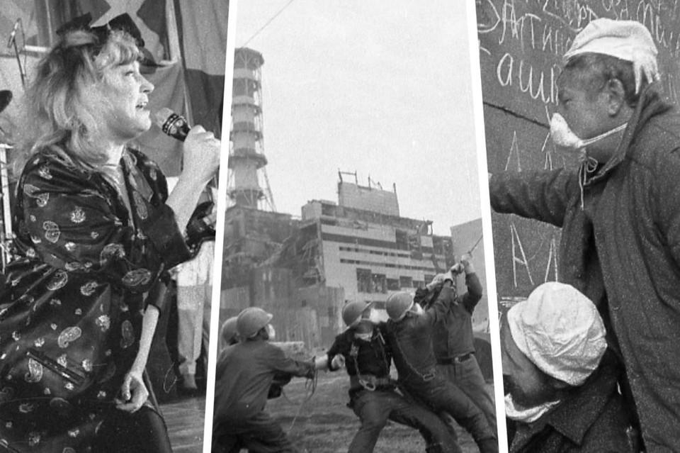 В зону отчуждения с концертом приезжала Алла Пугачева. Фото: архив Валерия Новикова