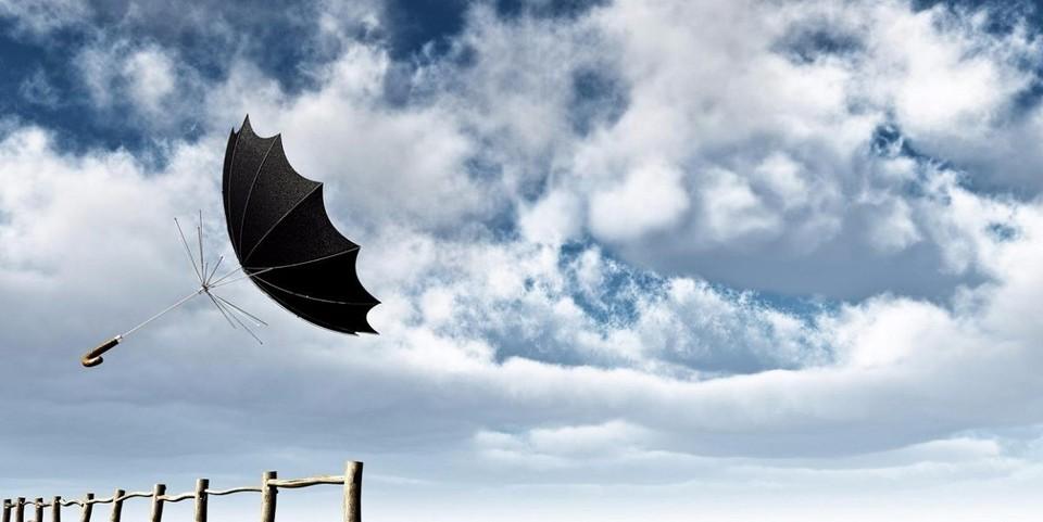 Ожидается сильный ветер.
