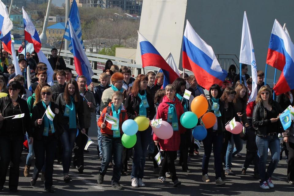 Масштабные праздничные мероприятия запланированы во Владивостоке.
