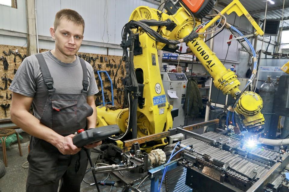 Автоматизация основных этапов производственного процесса в «Аксоиде».