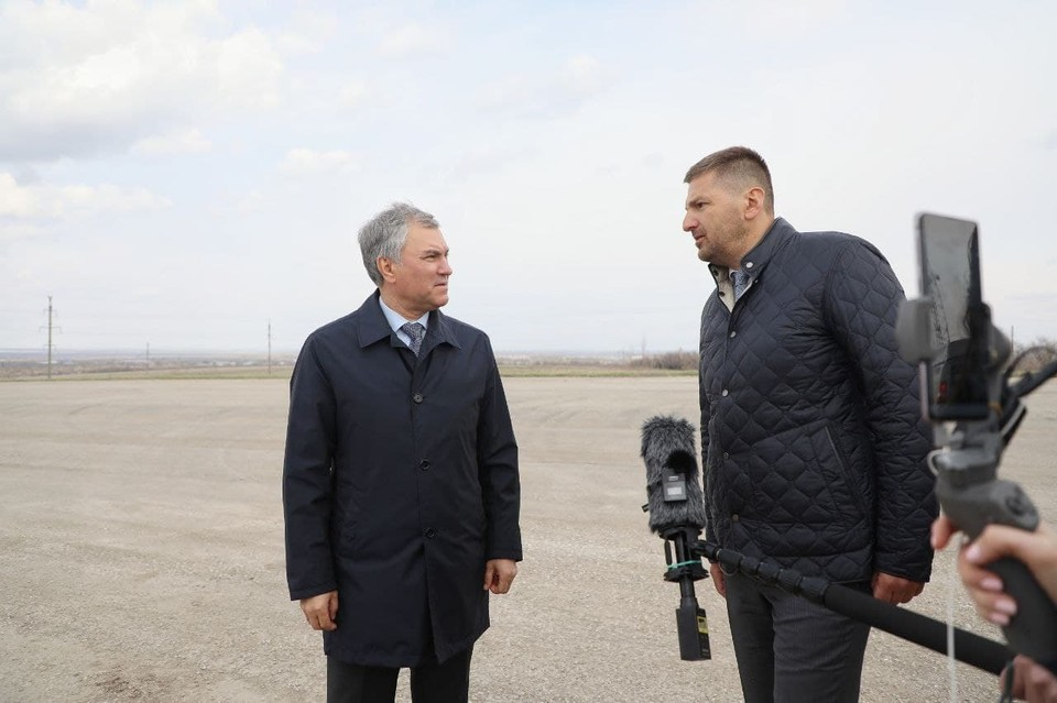 Вячеслав Володин обсудил строительство дорожной развязки в Пугачевском районе